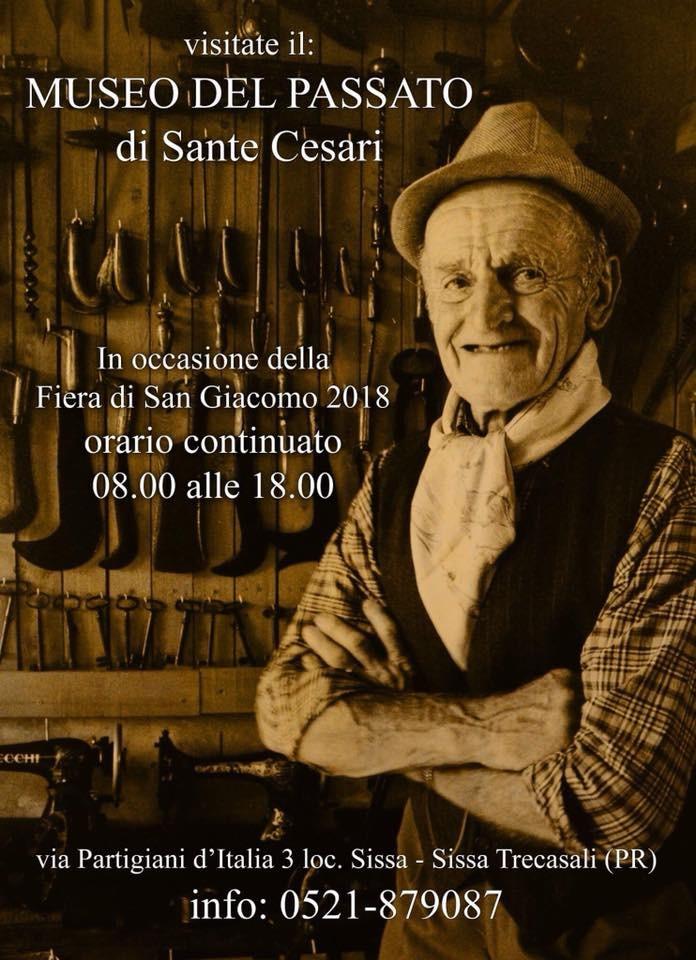 Il Museo di SANTE CESARI aperto con orario continuato in occasione della fiera