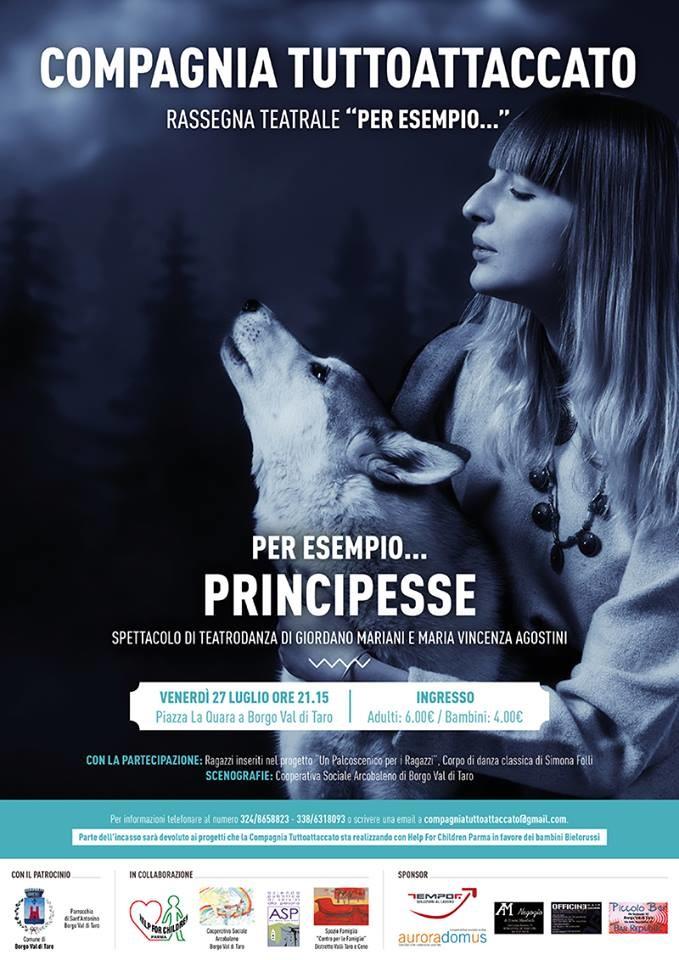 """""""Per esempio...Principesse"""" spettacolo di teatro-danza"""