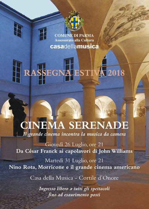 CINEMA SERENADE – Il grande cinema incontra la musica da camera