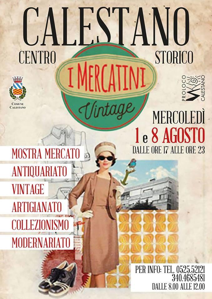 """I mercatini del vintage"" a Calestano"