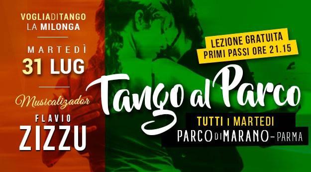 Lezione e Milonga al Parco di Marano Tdj Flavio Zizzu