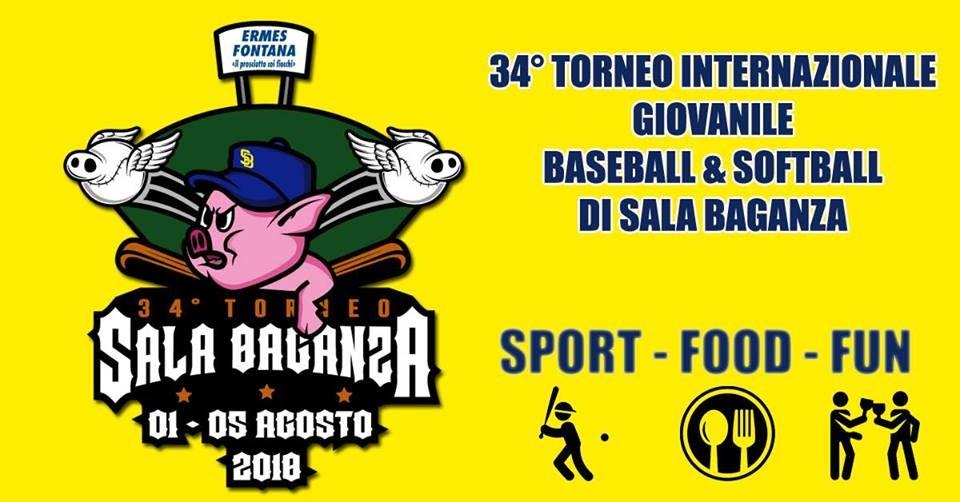 34esimo Torneo Internazionale Giovanile di Baseball e Softball di Sala Baganza