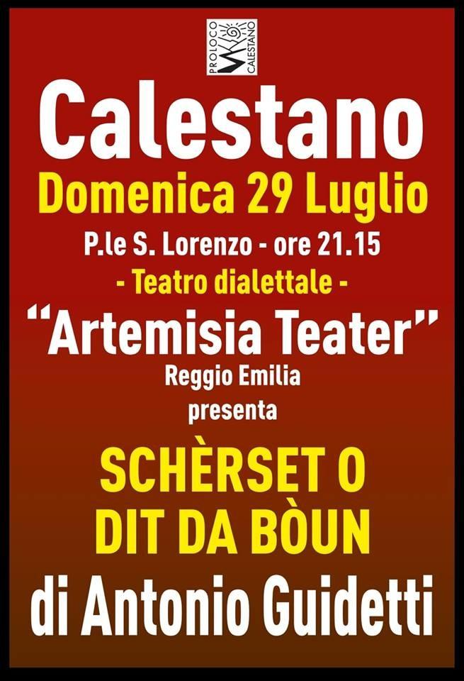 Teatro dialettale a Calestano