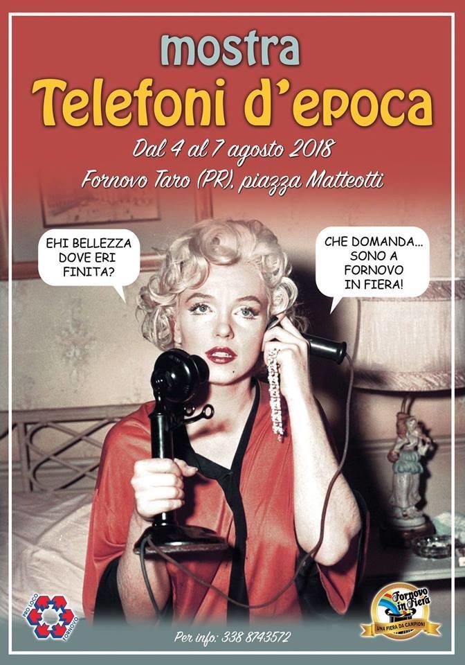 Mostra telefoni d'epoca a Fornovo