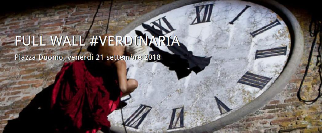 Full Wall, spettacolo di danza  per l'anteprima Festival Verdi, inaugurazione Verdi Off