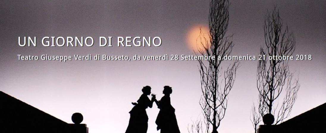 UN GIORNO DI REGNO al Festival Verdi