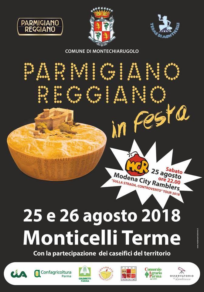Parmigiano in festa a Monticelli