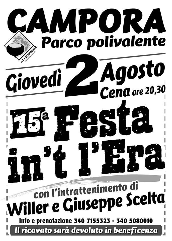 15° Festa in't l'era a Campora