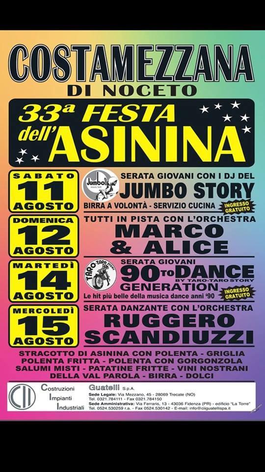 33° Festa dell' Asinina a Costamezzana