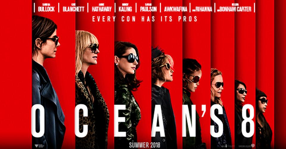 Al cinema Cristallo di Borgotaro OCEAN'S 8