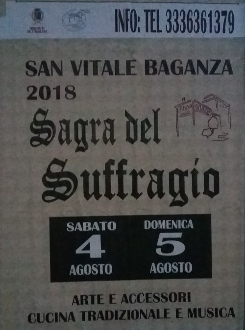 Sagra del Suffragio a San Vitale Baganza