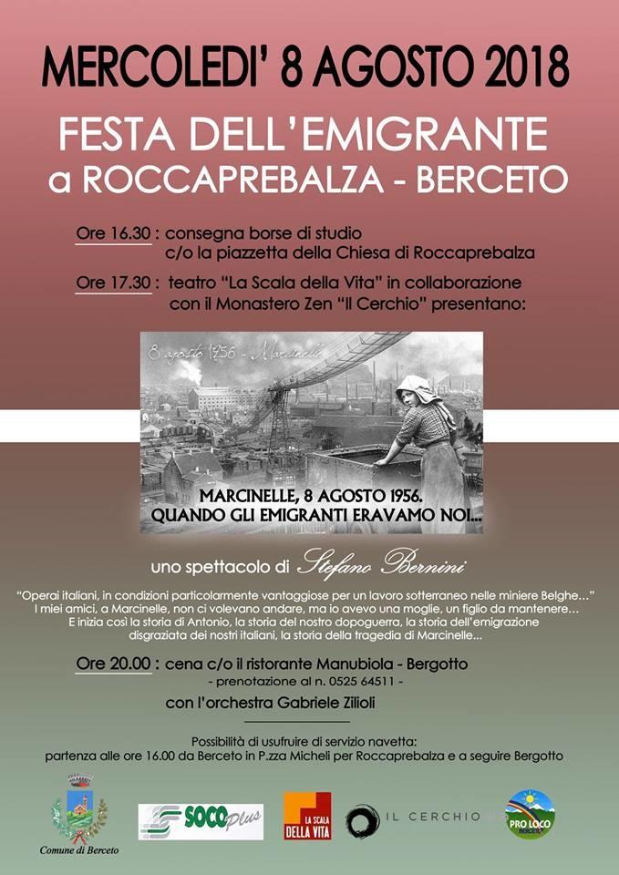 Festa dell'emigrante a Roccaprebalza