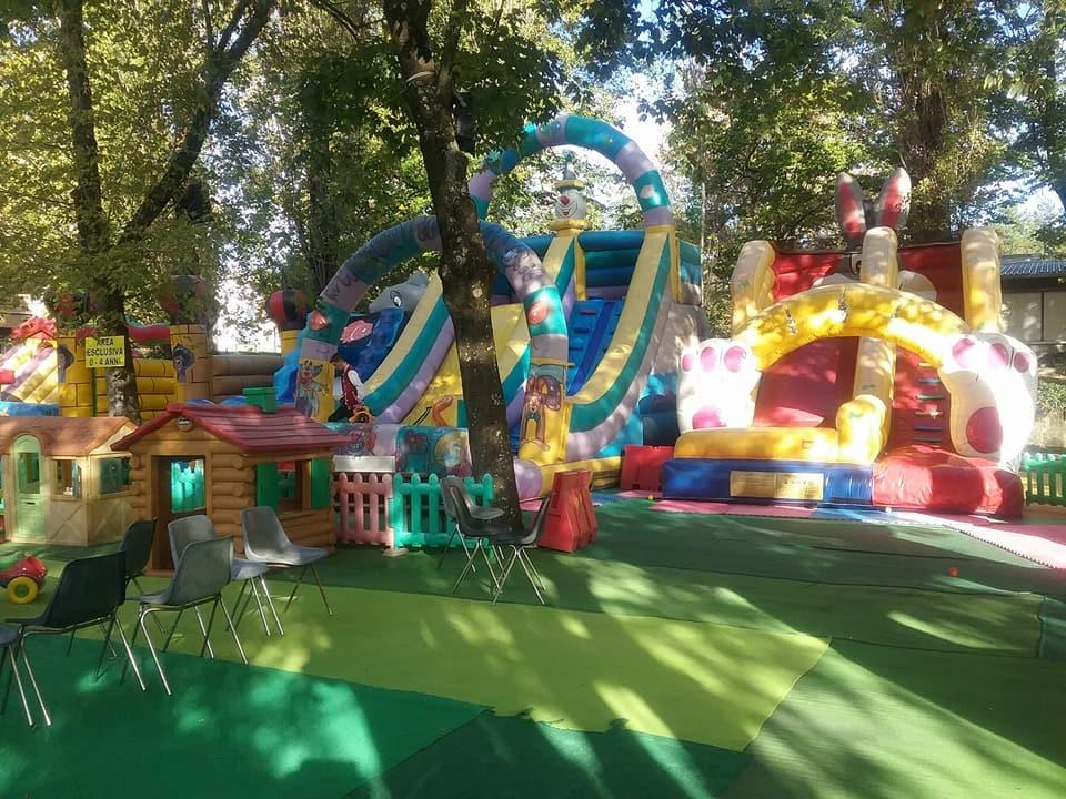 I giochi di Gommaland a Fornovo in fiera