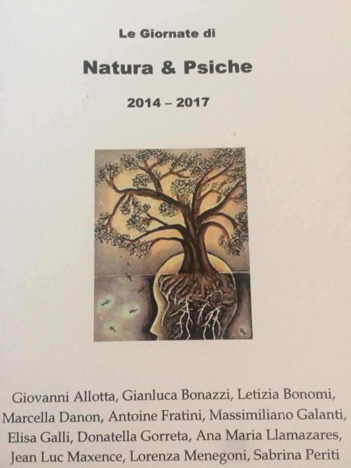 """Presentazione del libro """"Le giornate di Natura & Psiche 2014-2017"""" a cura del Prof. Antoine Fratini."""