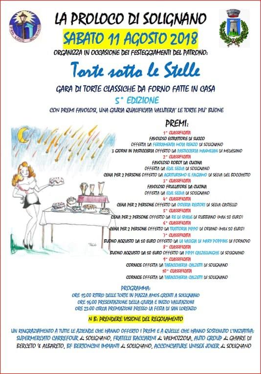 Gara di torte a Solignano