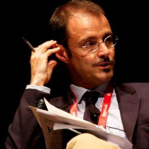 """Allo """"Street Talk di Andrea Villani:   Francesco Specchia."""