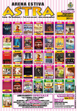 Anteprima Stagione cinematografica 2018-2019  CAMPEONES all'Arena estiva Astra Cinema