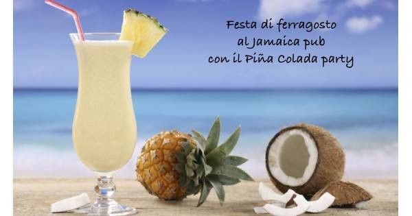 Piña Colada party al Jamaica pub