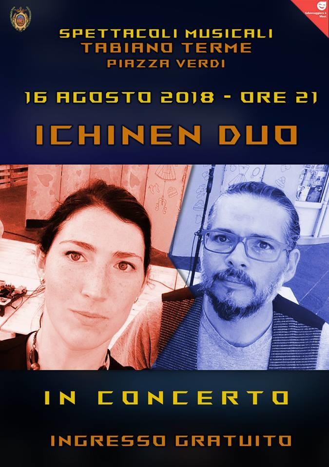"""ICHINEN DUO"" in concerto a Tabiano Terme"
