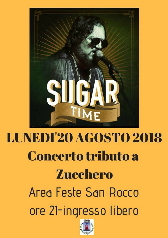 A Sere d'estate la tribute band di Zucchero Sugar Time