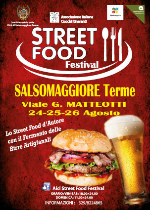 STREET FOOD A Salsomaggiore
