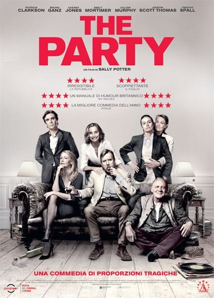 Esterno Notte: THE PARTY