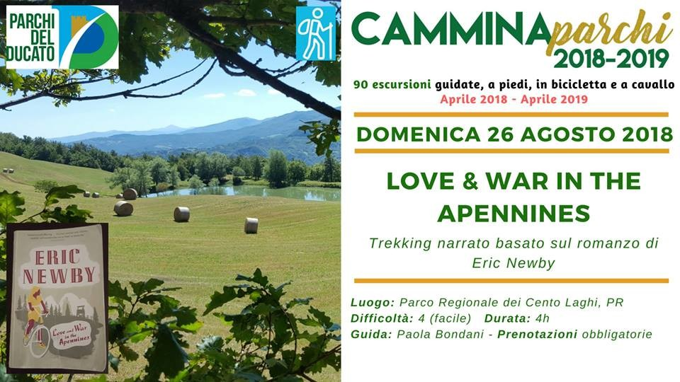 Camminaparchi: love and war in the apennines