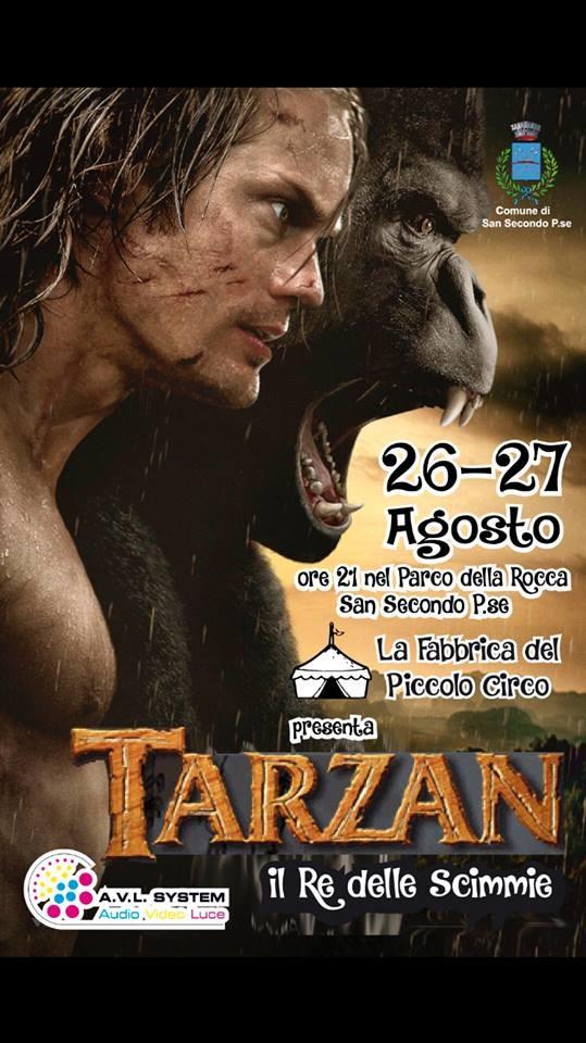 """""""Tarzan, il Re delle Scimmie"""", musical a San Secondo"""