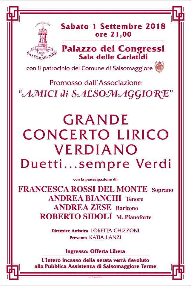Concerto Lirico Verdiano