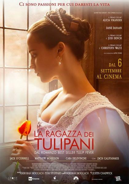 Anteprima Stagione cinematografica 2018-2019  LA RAGAZZA DEI TULIPANI all'Arena estiva Astra Cinema