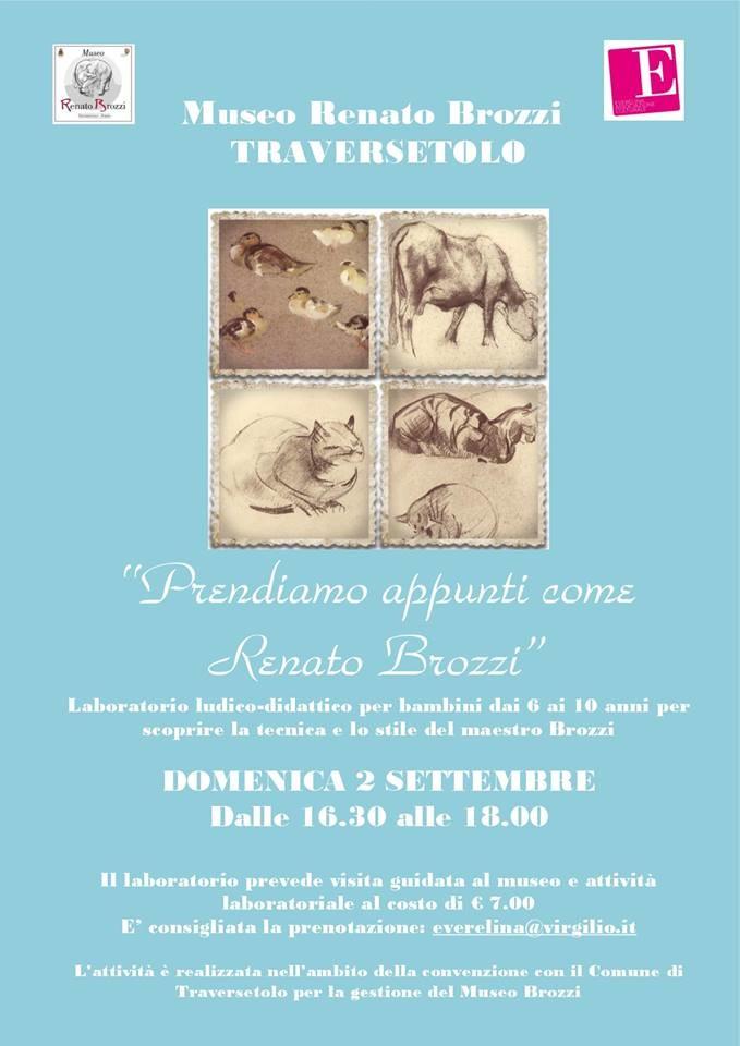 Laboratorio per bambini al Museo Renato Brozzi