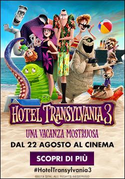 Al cinema Odeon di Salsomaggiore HOTEL TRANSYLVANIA 3-Una vacanza mostruosa