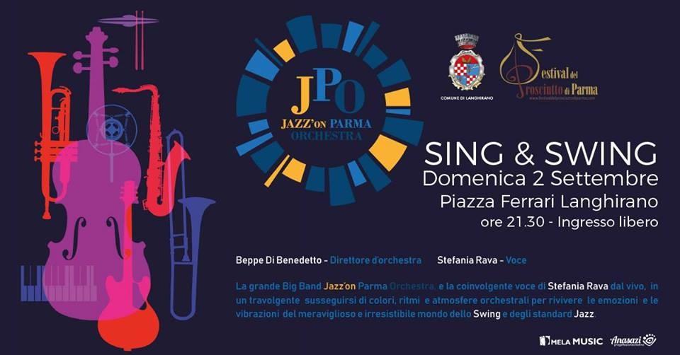 Sing & Swing - JPO e Stefania Rava in concerto