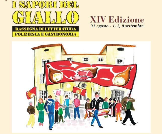 """Al Festival del prosciutto: """"I Sapori del Giallo"""""""