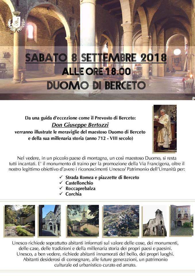 Il Duomo di Berceto raccontato da  Don Giuseppe Bertozzi