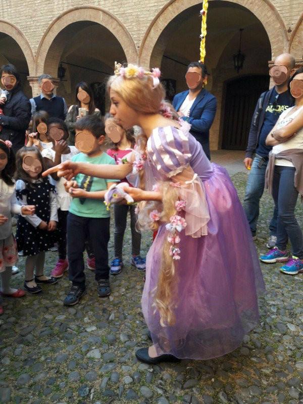 A cena con Principi e Principesse alla Rocca di Fontanellato