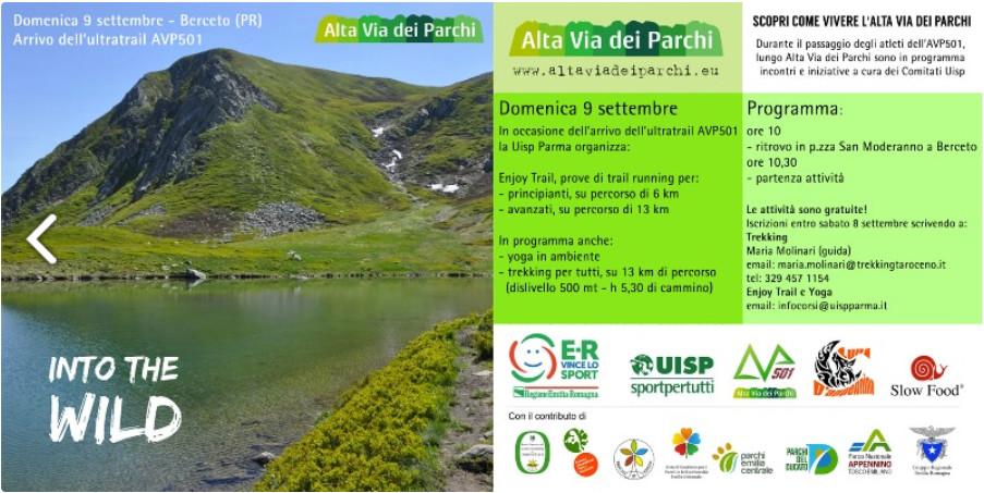 AVP501 Endurance Trail: eventi aperti a tutti