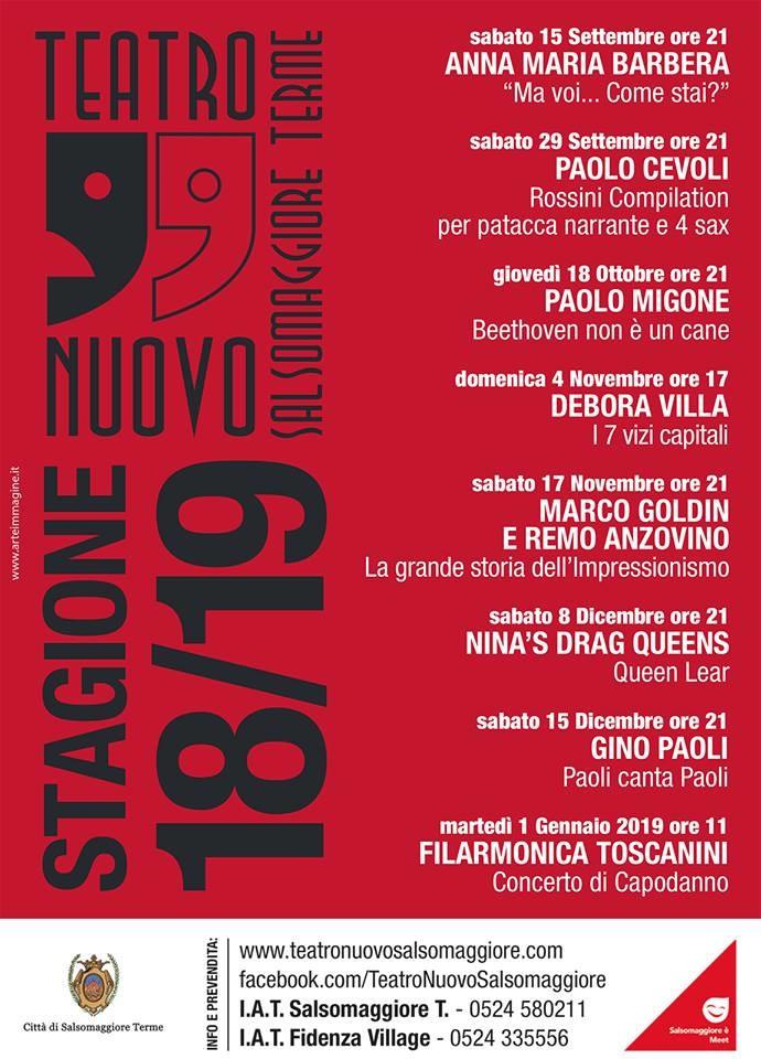 Teatro Nuovo Stagione 2018/2019