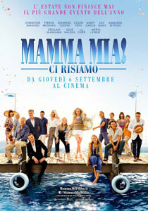 MAMMA MIA-CI RISIAMO al CINEMA D'AZEGLIO