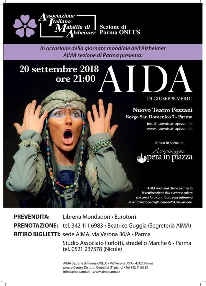 Aida al Teatro Pezzani