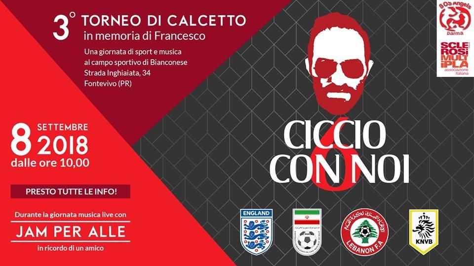 CICCIO CON NOI, torneo di calcetto