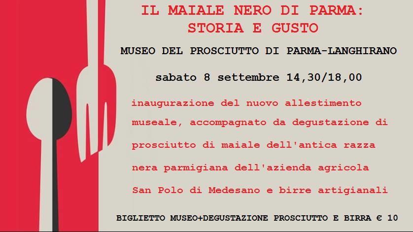 Il maiale nero di Parma: storia e gusto