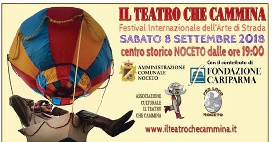 Il teatro che cammina a Noceto, Festival internazionale dell'arte di strada