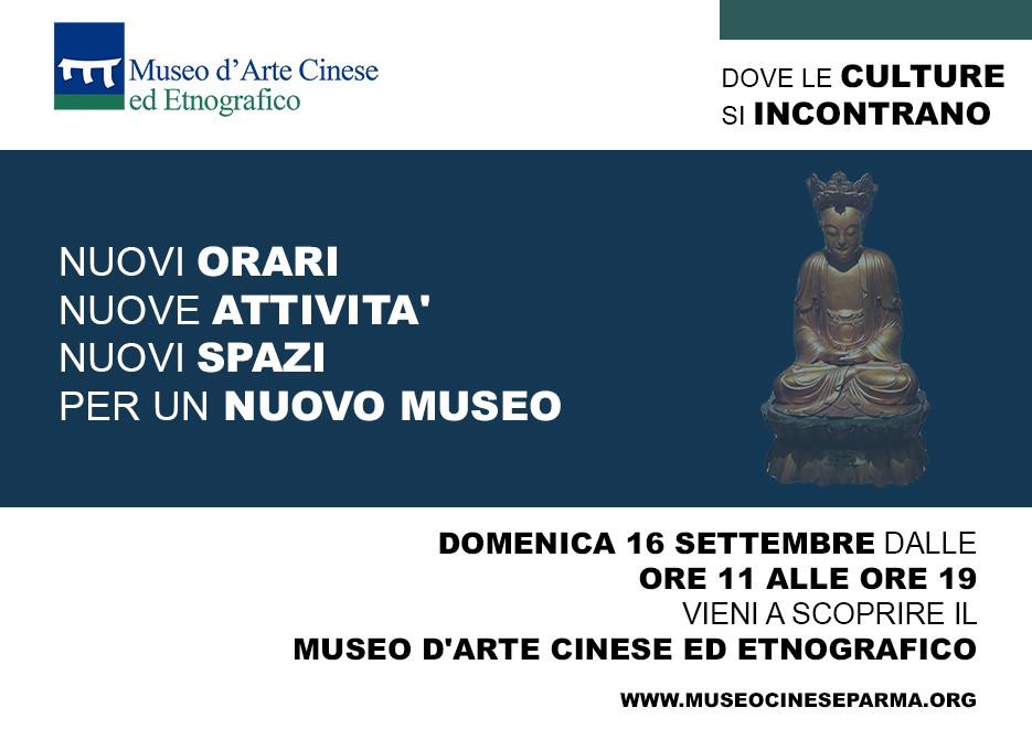PRIMA DOMENICA DI APERTURA  DEL MUSEO D'ARTE CINESE ED ETNOGRAFICO