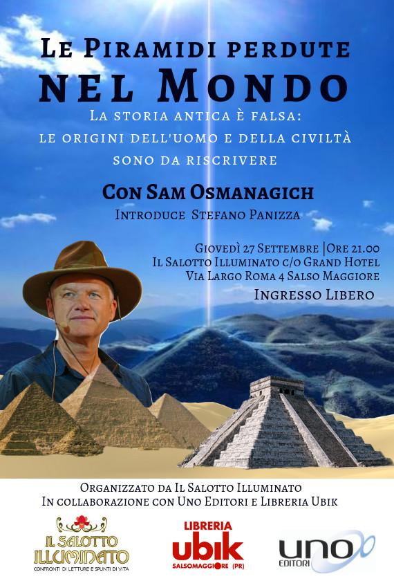 Le piramidi perdute nel mondo, incontro con Stafano Panizza e...
