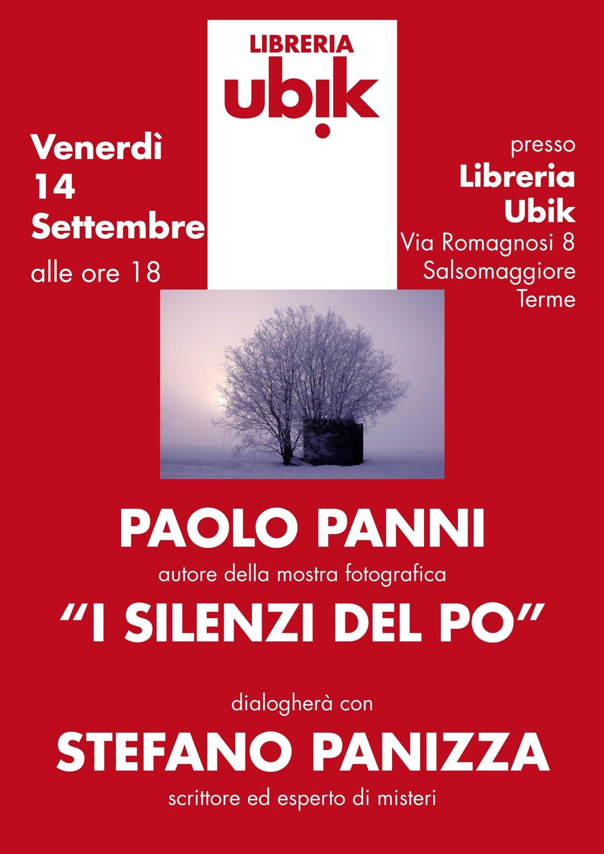 """""""I silenzi del Po"""" con Paolo Panni e Stefano Panizza"""