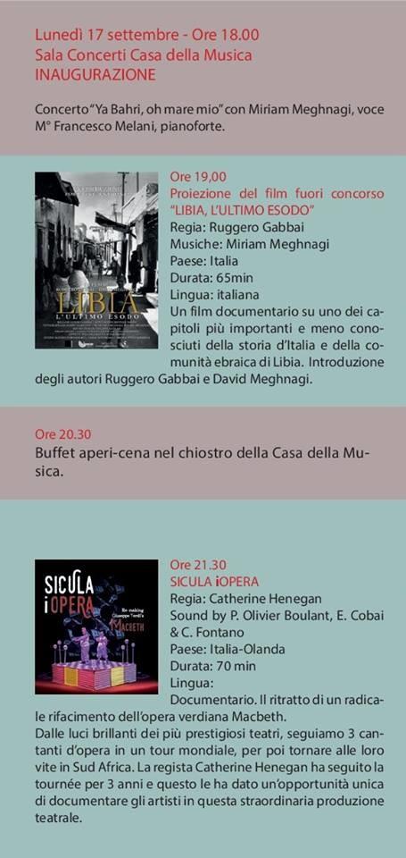 Parma International Music Film Festival: programma del 17