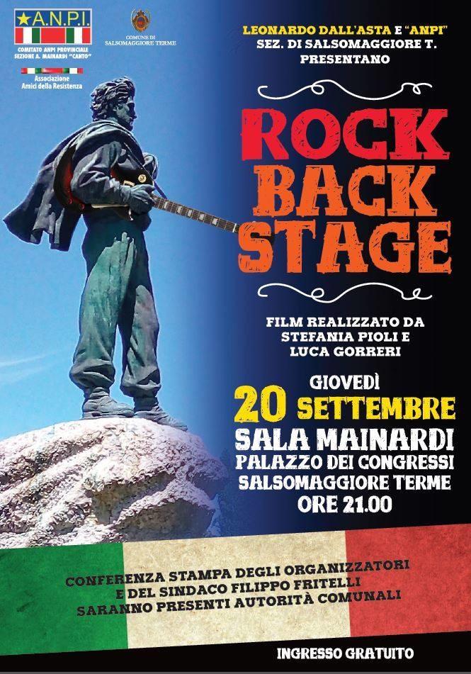 Rock Back Stage