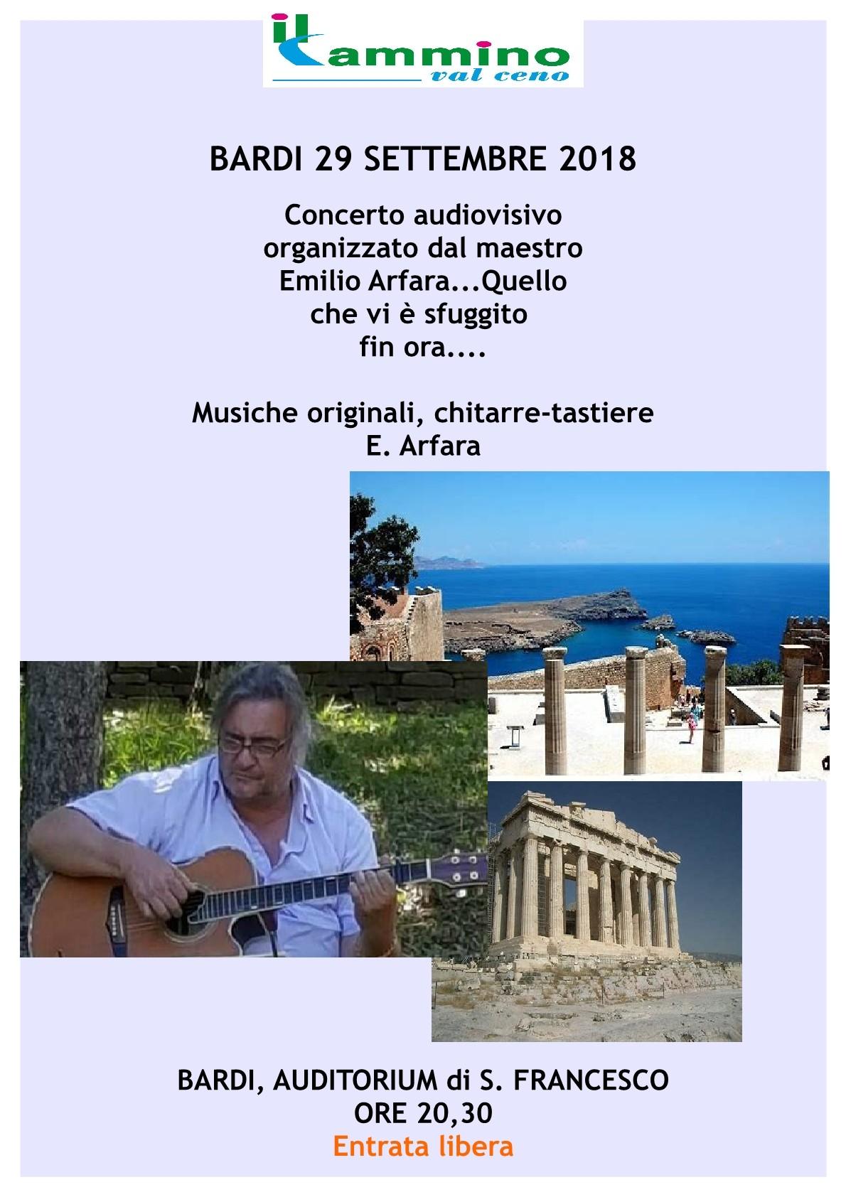 Video-concerto di Emilio Arfara.