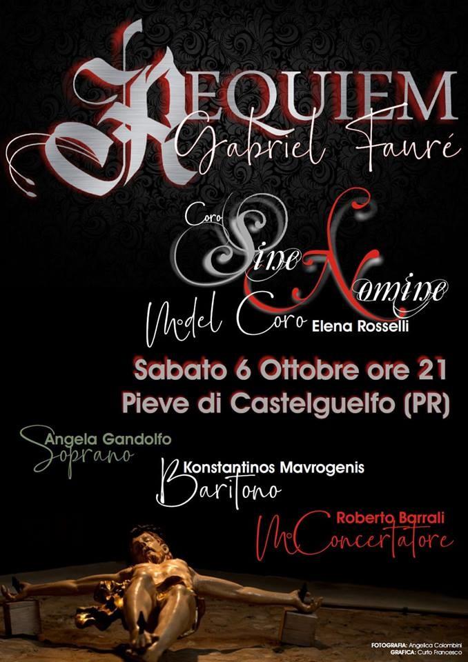 """Alla Pieve di Castelguelfo il """"REQUIEM"""" di GABRIEL FAURE"""